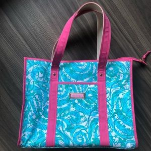 Lilly Pulitzer ADPi (Alpha Delta Pi) Tote Bag